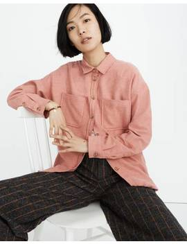 Flannel Shirt Jacket by Madewell