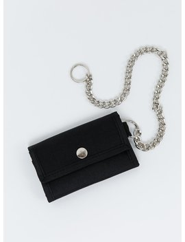 Thrills Judas Chain Wallet Black by Thrills