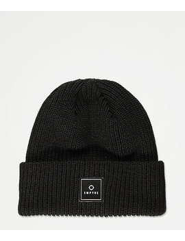 Empyre Clobber Black Beanie by Empyre