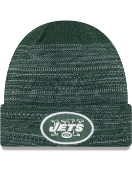 New York Jets New Era 2017 Sideline Official Td Knit Hat   Green by New Era