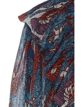 Vienne Metallic Mini Dress by Ulla Johnson