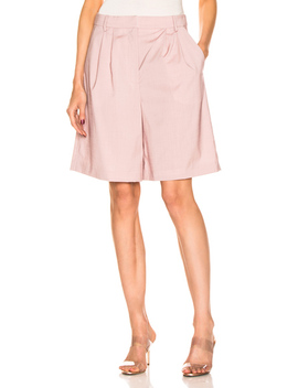 Pleated Short by Tibi