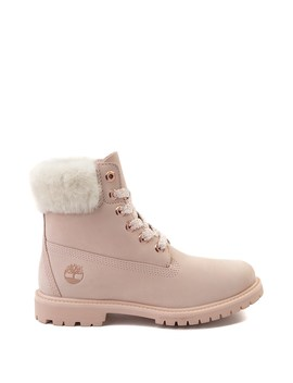 "Womens Timberland 6"" Premium Shearling Collar Boot by Timberland"