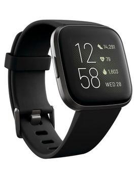 Fitbit Versa 2   Black Carbon by Fitbit