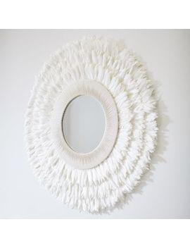Rachel Zoe Feather Mirror by P Bteen