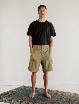 Our Legacy Army Shorts   Olive Tactic Twill by Garmentory