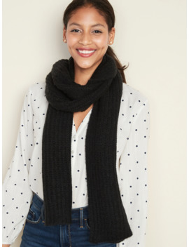 Soft Brushed Shaker Stitch Scarf For Women by Old Navy