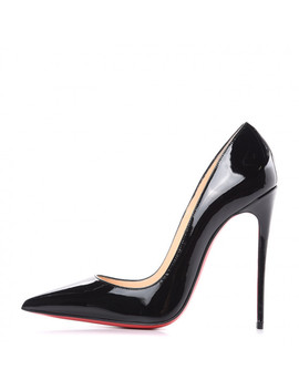 Christian Louboutin Patent So Kate 120 Pumps 38.5 Black by Christian Louboutin