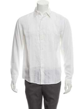 Linen Tuxedo Shirt W/ Tags by Theory