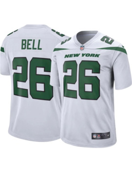 Nike Men's Away Game Jersey New York Jets Le'veon Bell #26 by Nike