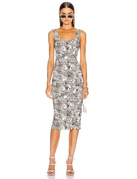 For Fwrd Midi Tank Dress by Enza Costa