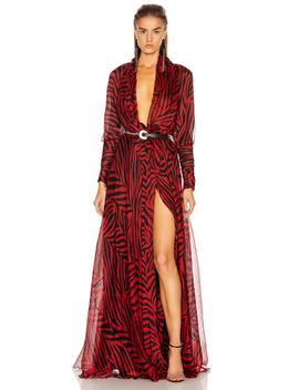 Zebra Maxi Dress by Redemption