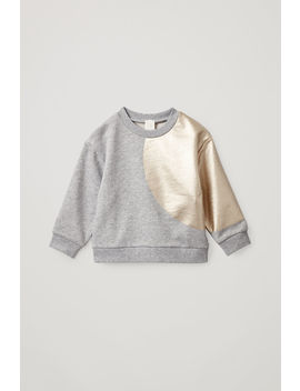 Jersey Metallic Sweatshirt by Cos