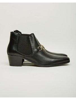 Needles Heeled Chelsea Boot   Black by Garmentory