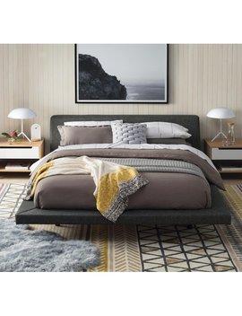 Slate Dawley Upholstered Platform Bed by Allmodern