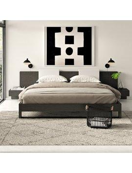 Gray Dartford Platform Bed by Allmodern