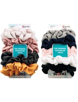 Scunci Hair Scrunchies 10 Pack   Assorted* by Scunci