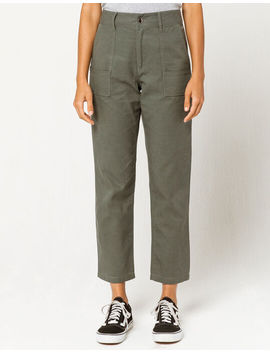 Coco & Jaimeson Olive Womens Utility Pants by Tilly's