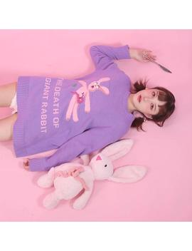 """The Death Of A Giant Rabbit"" Sweater by Aesthentials"