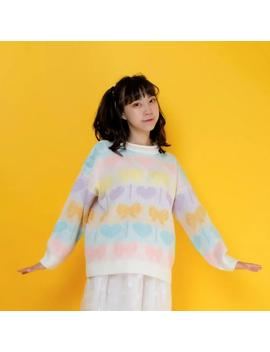 """pastel-candy""-sweater by aesthentials"