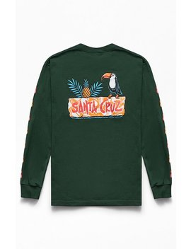 Santa Cruz Toucan Play Long Sleeve T Shirt by Pacsun