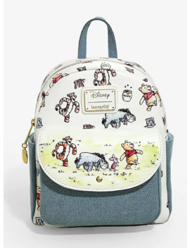 Loungefly Disney Winnie The Pooh Classic Mini Backpack   Box Lunch Exclusive by Box Lunch