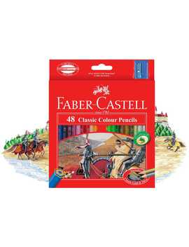 Faber Castell Colour Pencils 48 Pack by Faber Castell