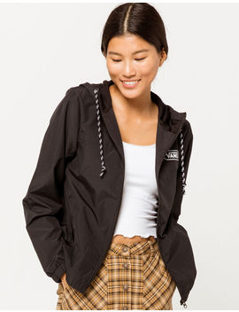 Vans Kastle Iii Black Womens Windbreaker Jacket by Vans