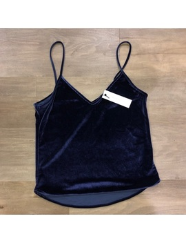 Blue Velour Women's BlouseNwt by Sincerely Jules