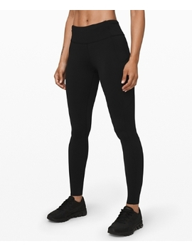 """Fast And Free Mid Rise Tight 28"""" Non Reflective Online Only by Lululemon"""