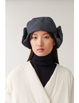 Padded Hat With Ear Flaps by Cos