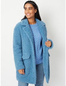 Beige Unlined Longline Oversized Coat by Asda