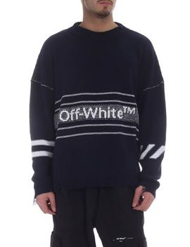 Pullover Blu Off White by Off White