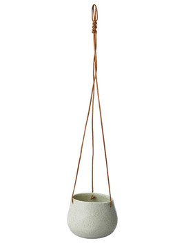 Tilly@Home Zen Hanging Planter, Fog Green by Farmers