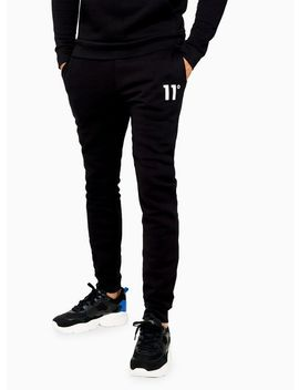 11 Degrees Black Joggers by Topman