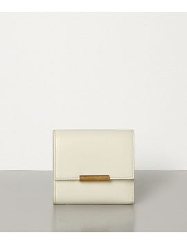 Mini Continental Wallet In French Calfskin by Bottega Veneta