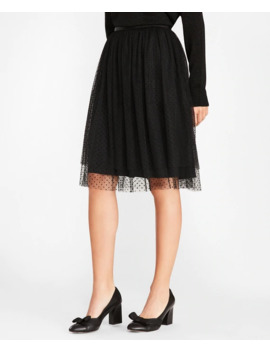 Polka Dot Tulle Skirt by Brooks Brothers
