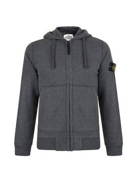 Zip Hooded Sweatshirt by Stone Island