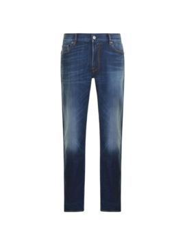 Skinny Fit Jeans by Stone Island