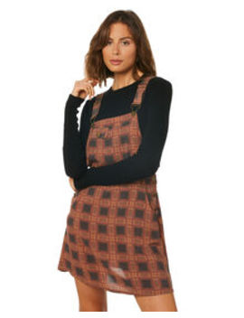 Womens Liv Overall Dress by Afends