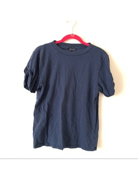 Topshop Navy Blue Tee by Topshop
