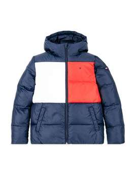 Padded Flag Jacket   Navy by Tommy Hilfiger