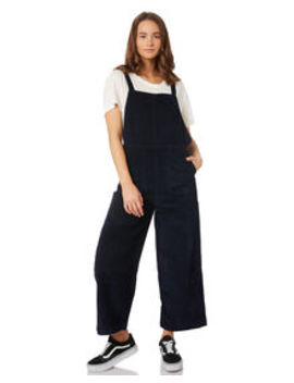 Womens Crushed Plush Cord Overall by Rvca