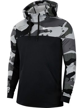 Nike Men's Therma Dri Fit Pullover Training Hoodie by Nike