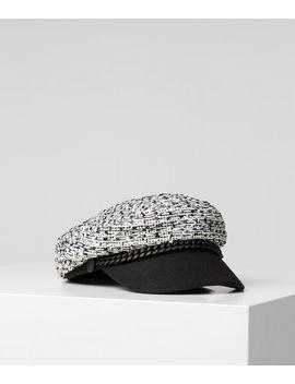 Tweed Cap by Karl Legerfeld