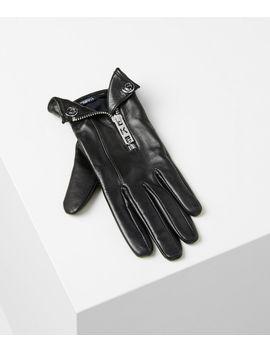 K/Karl Biker Jacket Glove by Karl Legerfeld