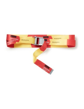 2.0 Industrial Riem Met Colour Blocking by Off White
