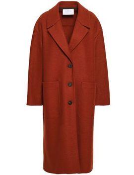 Virgin Wool Felt Coat by Harris Wharf London