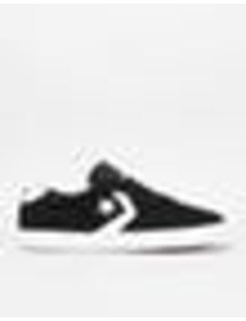 Converse Checkpoint Pro Classic Skate Shoes   Black/White/White by Route One