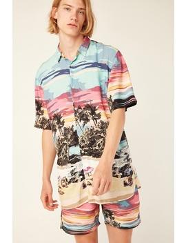 Holiday Ss Island Print Shirt Island Print by Barney Cools